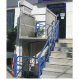 plataforma de acessibilidade para escadas