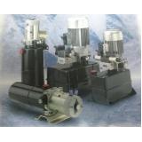 Desenvolvimento e Fornecimento de Mini Unidade Hidráulicas